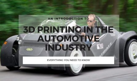 3d printing in the automotive industry guide