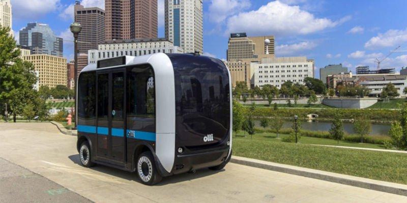 olli 3d printed autonomous bus