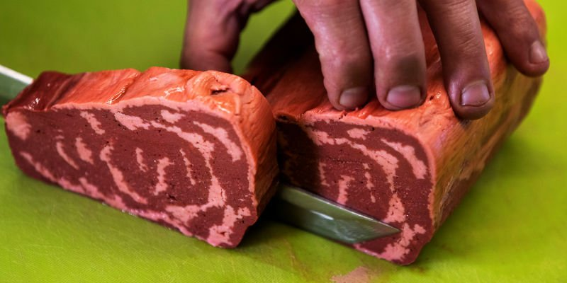 redefine meat 3d printed steaks