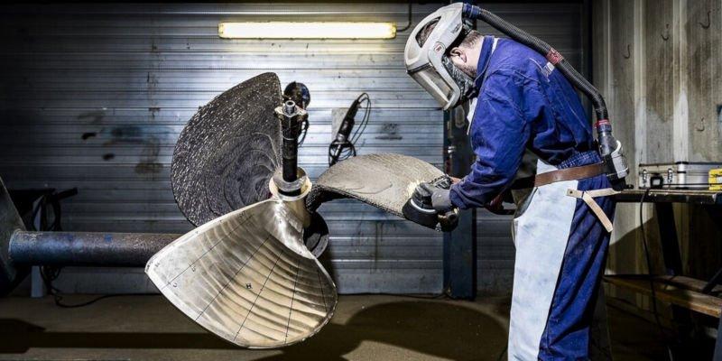 waampeller 3d printed boat propeller