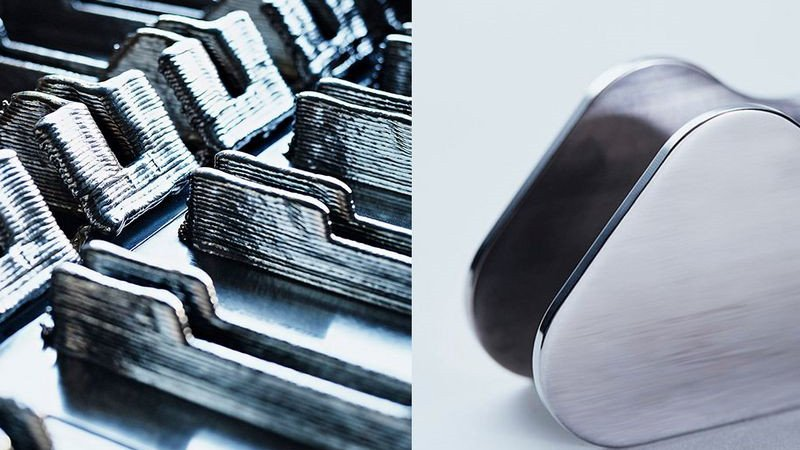 3D printed titanium aircraft brackets