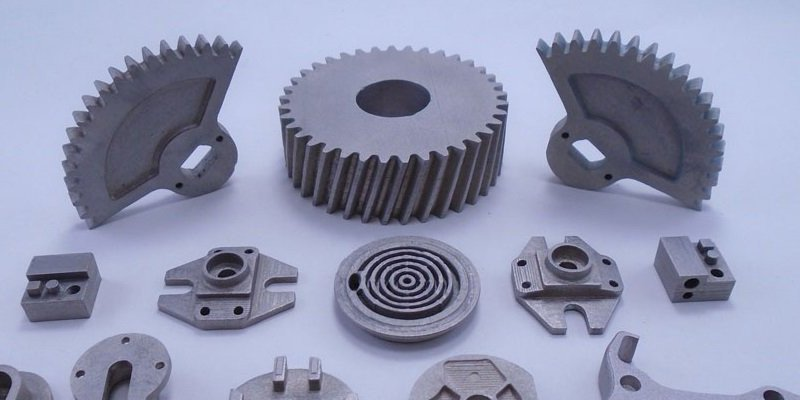3D printed aluminum mechanical components