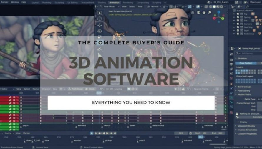The 7 Best 3D Animation Software 2021 (Some are Free!)