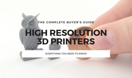 high resolution 3d printer guide