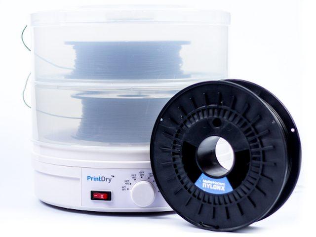 Nylonx carbon fiber PrintDry system