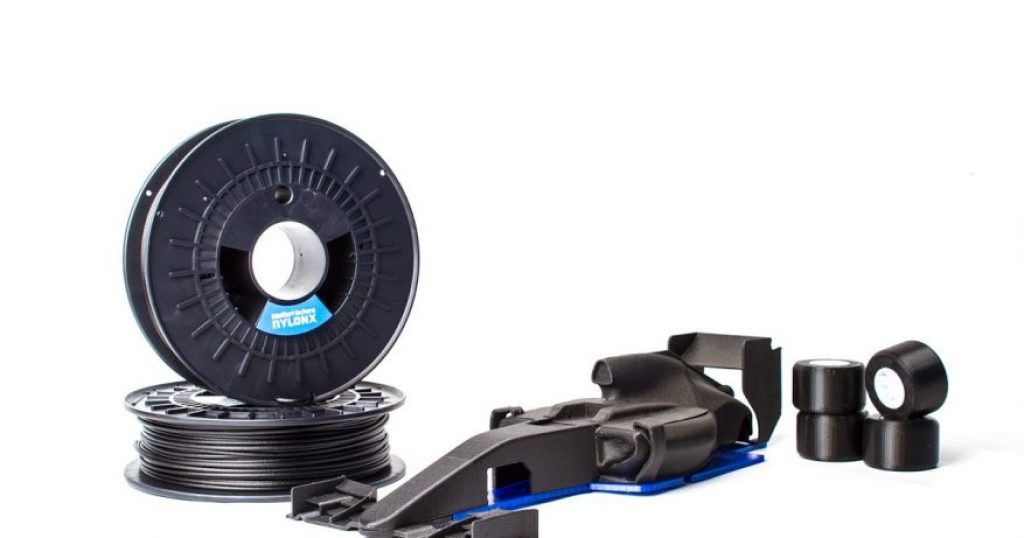 Nylon Carbon Fiber filament image