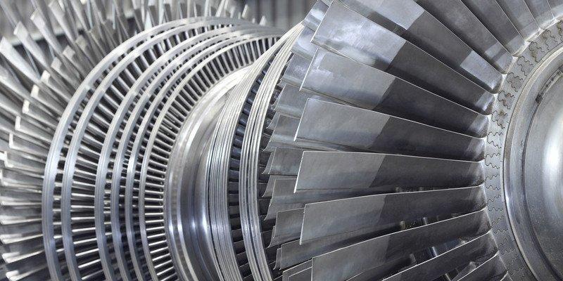 3D printed steel turbine