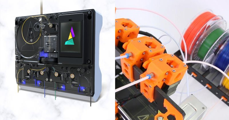 palette 2s and prusa multi material 3d printing upgrade
