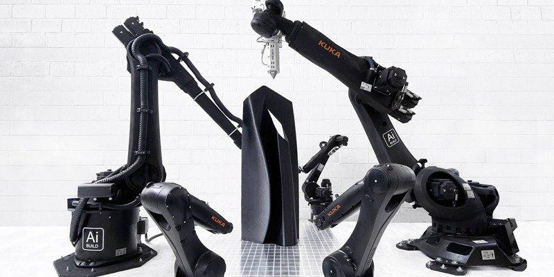 Ai Build 3D printing robotic arms