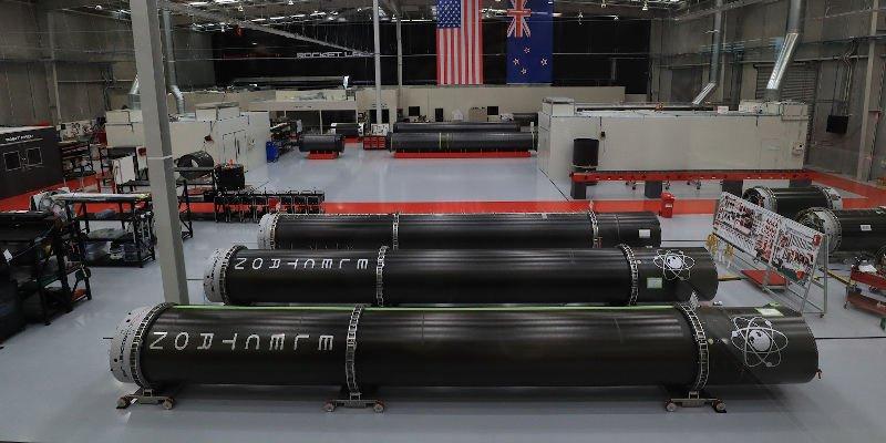 Rocket Lab Electron Rocket, 3D printed using Electron Beam Melting