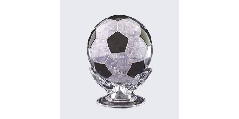 Crystal 3D Puzzle soccer ball