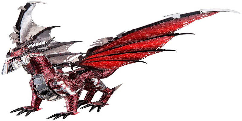 3D Dragon Puzzle for Adults