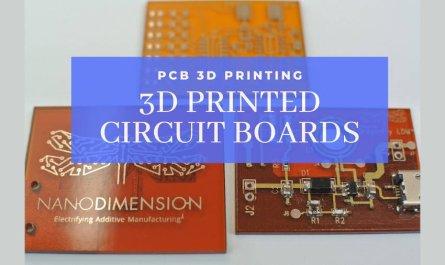 pcb 3d printer printing circuit boards