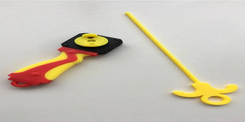 3D Printed Beyblade Dual Launcher