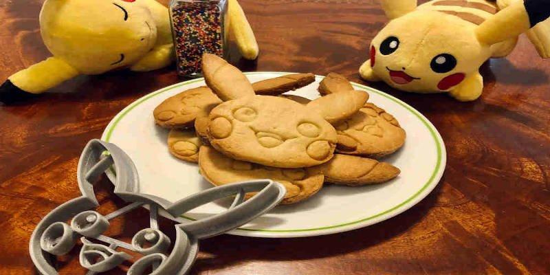 3D Printed Cookie Cutter Pikachu