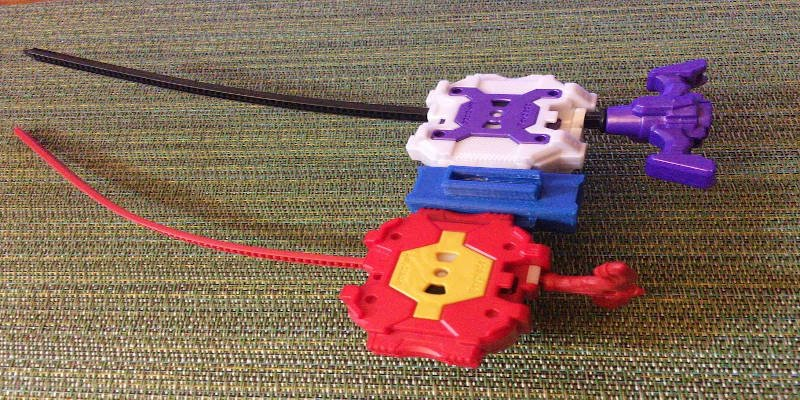3D Printed Beyblade Twin Launcher