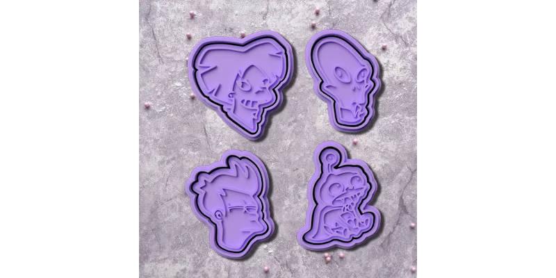3D Printed Cookie Cutter Futurama