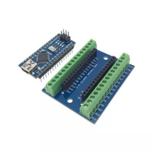 Arduino NANO terminal adapter shield 02