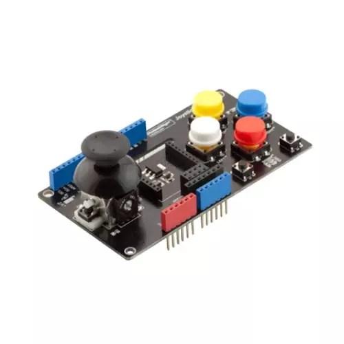 Arduino UNO Joystick Shield with wireless adapter 01