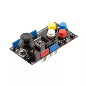Arduino UNO Joystick Shield with wireless adapter 01