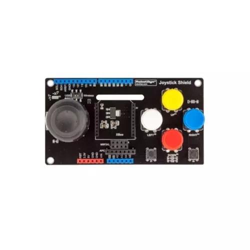 Arduino UNO Joystick Shield with wireless adapter 02
