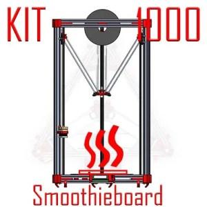 Kossel 1000 KIT smoothie heated