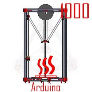Kossel 1000 arduino heated