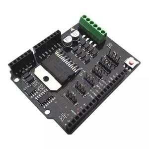 Arduino UNO Dual Channel DC Motor Driver Shield L298NH 01