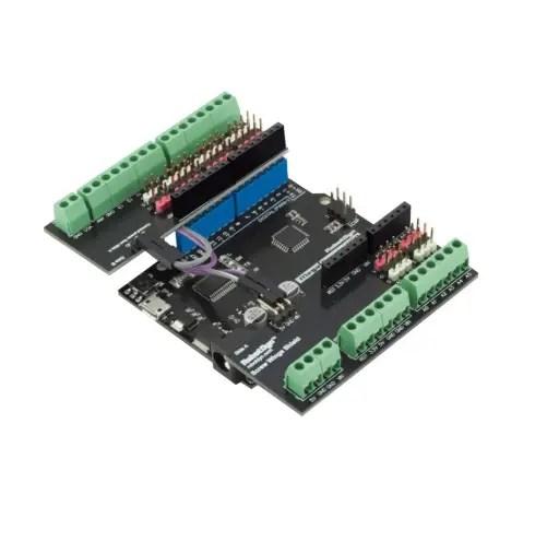 Arduino UNO nadgradnja s sponkami 01