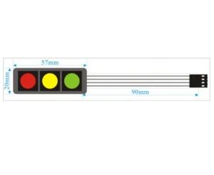 Modul tipka folijska semafor 02