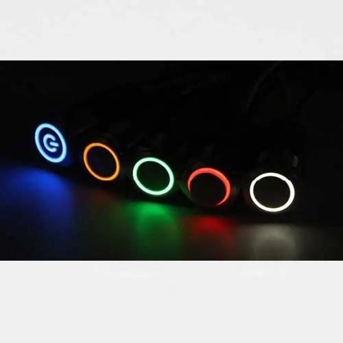 Tipke – stikala LED 12mm osvetlitev 01