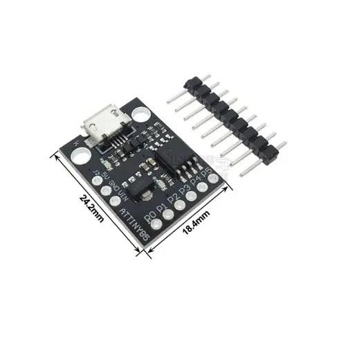 Arduino Tiny ATTINY85 microUSB 01