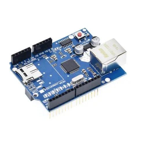 Arduino UNO Ethernet shied 01