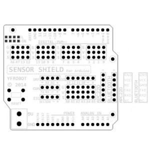 Arduino UNO sensor shield v5.0 v2 02