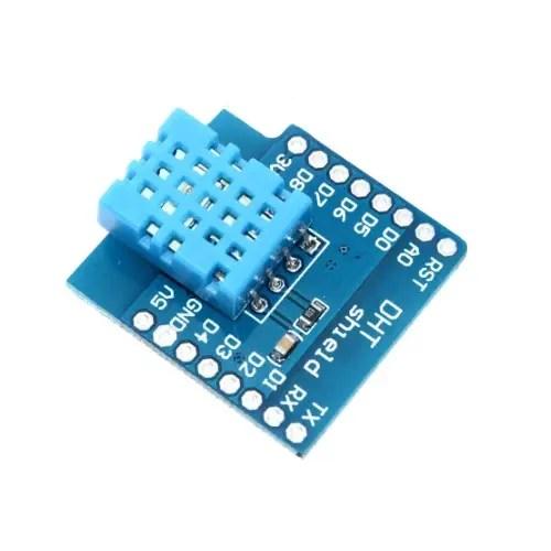 ESP32 D1 mini razširitev – DHT11