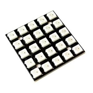 LED RGB WS2812B matrika 5x5 LED