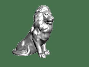 modely 3D  lev