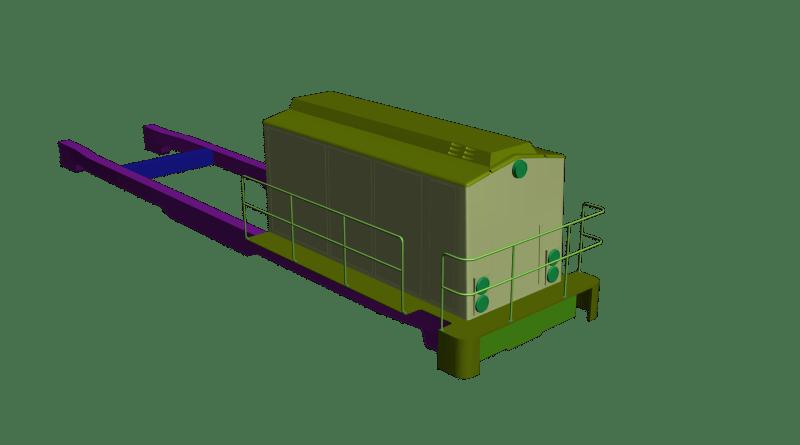 f13oiR3 Alstom BR 203 Project
