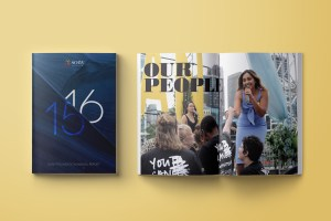Sony Foundation - Annual Reports - Graphic Design Sydney