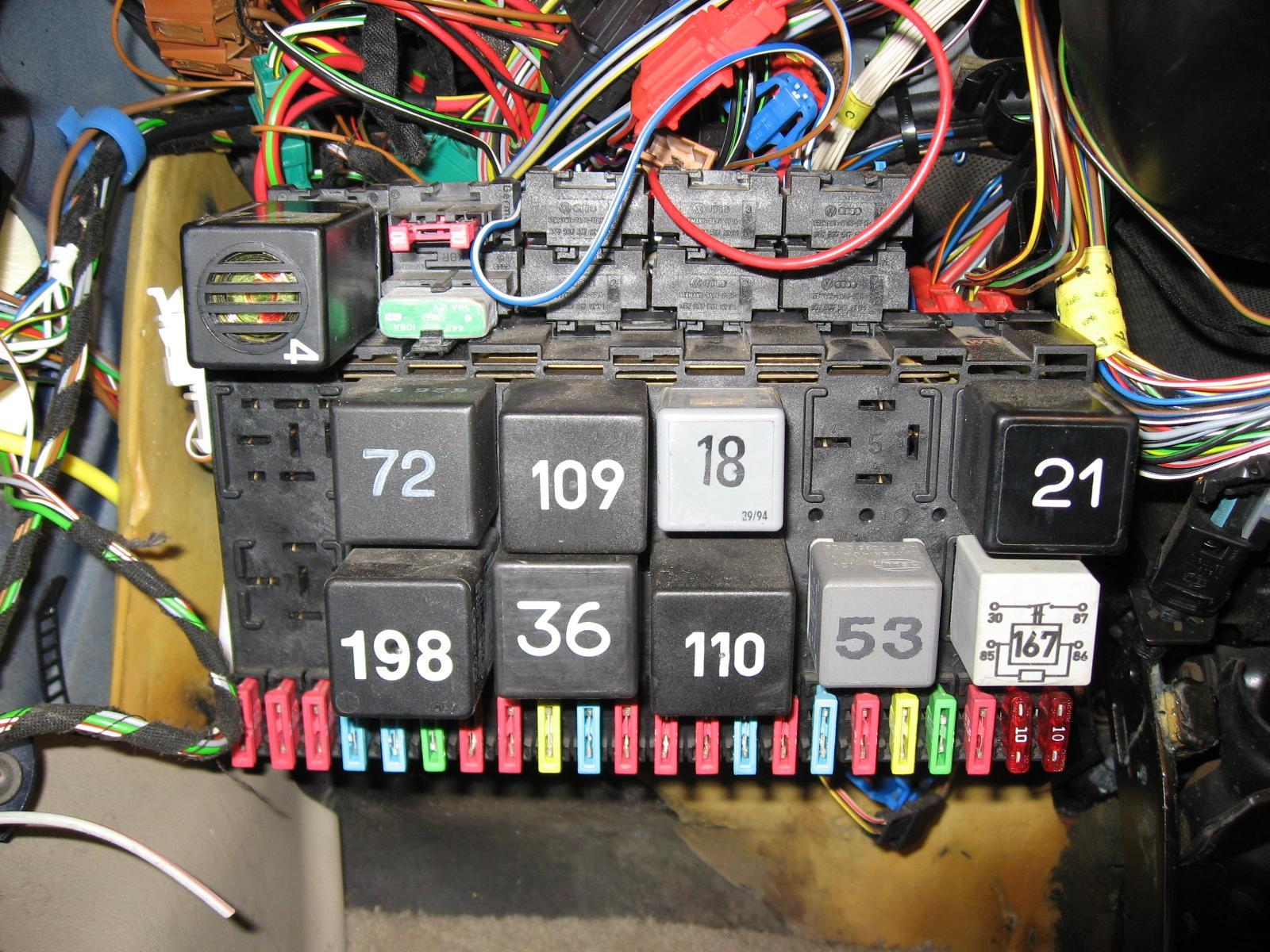 B5 S4 Fuse Diagram Fourtitude Com P5 Passat Into A 98 Golf Wireing Problem