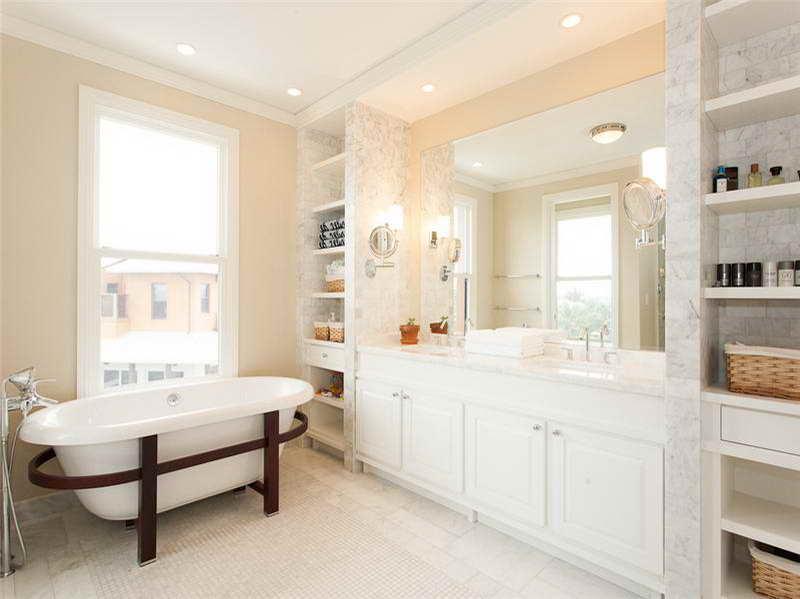 Cream Bathroom Get 3 Free Bids Today