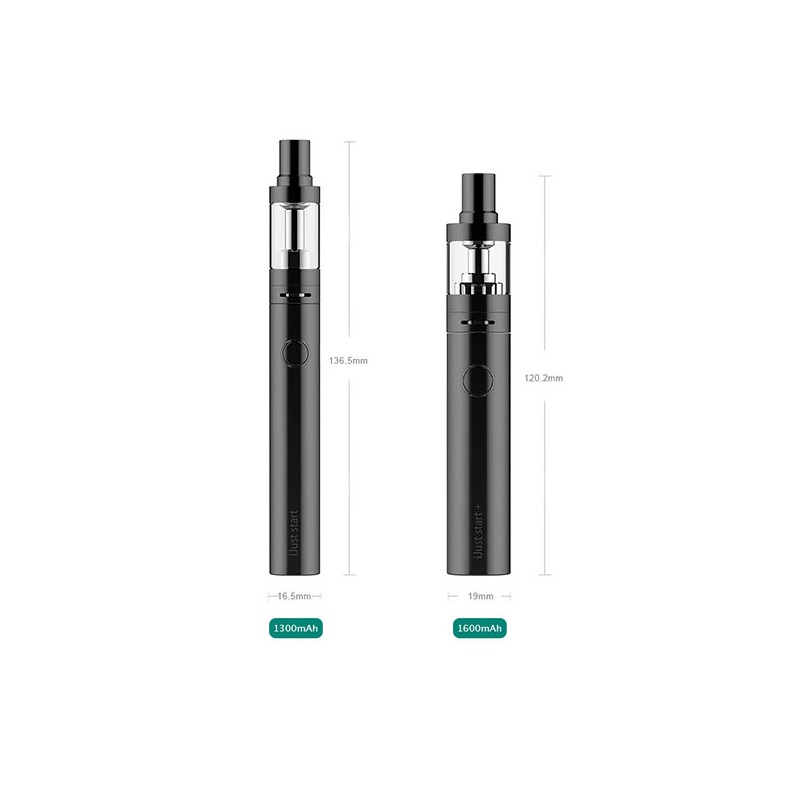 Authentic Eleaf iJust Start Black 1300mAh Battery Starter kit