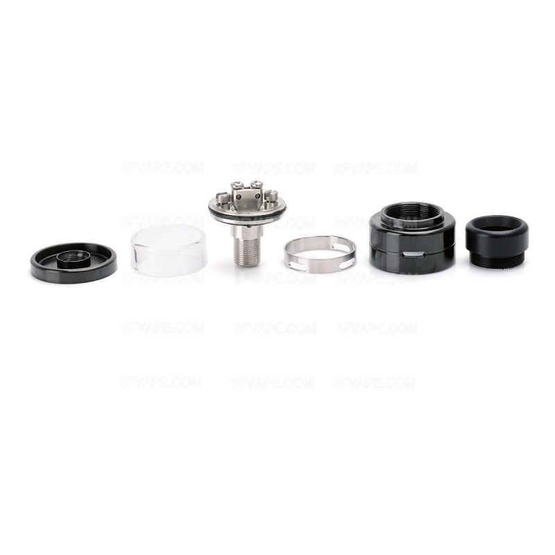 Split Atty Style Black 316SS 2.0mL RTA Rebuildable Tank