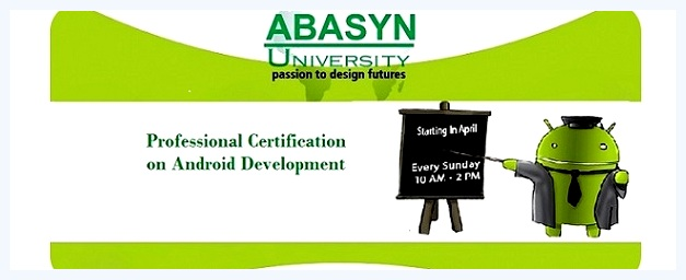 Six Week Professional Certification on Android Development at Abasyn ...