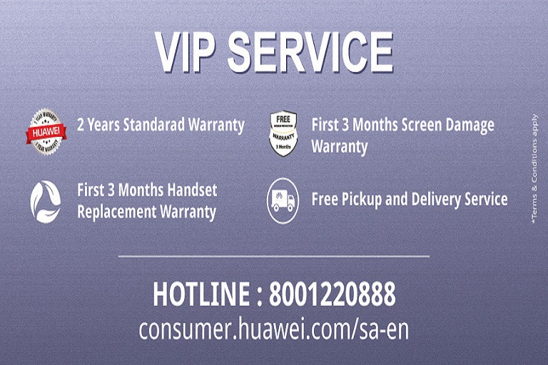 Huawei Introduced VIP Service In KSA