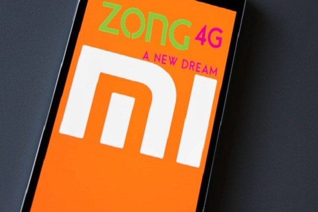 Now Buy Xiaomi Phones from Zong 4G Service Centers