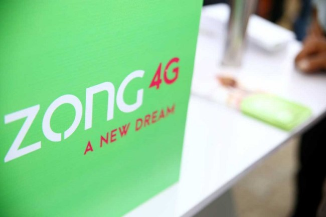 Zong Commits To Reinvest All Revenues Earned With In Pakistan