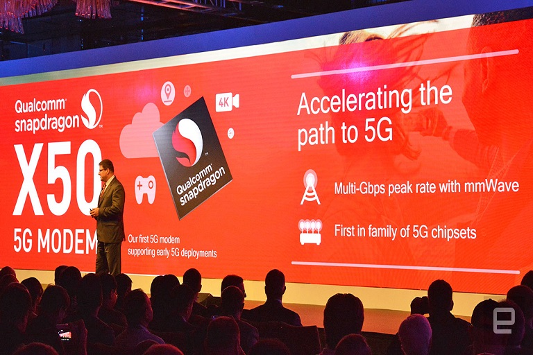 Qualcomm Attains World's First Announced 5G Data Connection