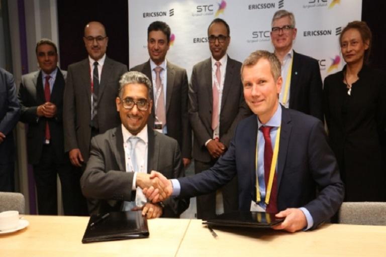 Ericsson and Saudi Telecom in Strategic 5G Collaboration