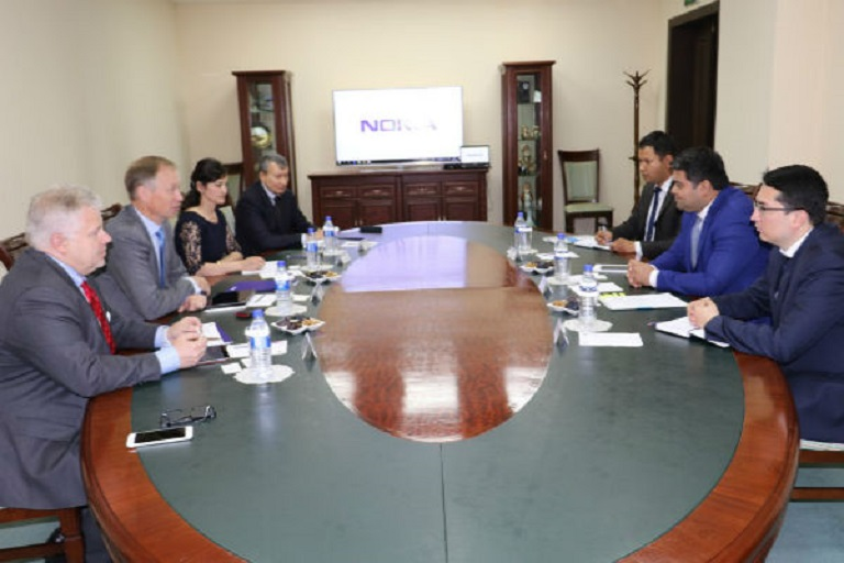 ICT Minister Uzbekistan Discussed IT Issues with Nokia